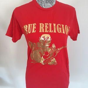 Tops - True Religion Buddha tshirt